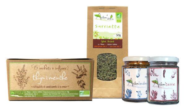 Coffret découverte d'herbes aromatiques bio