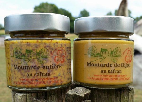 Moutarde à l'ancienne et de Dijon