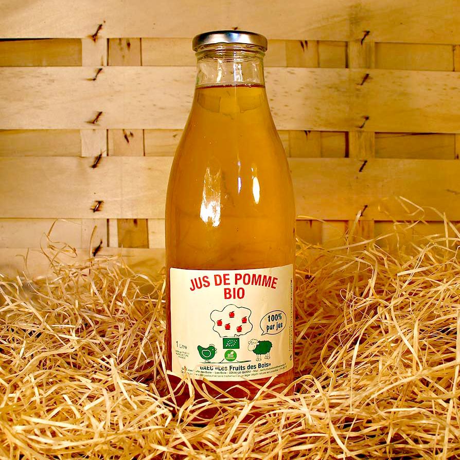 bouteille jus de pomme bio